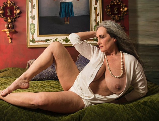 Mature women playing with themselves